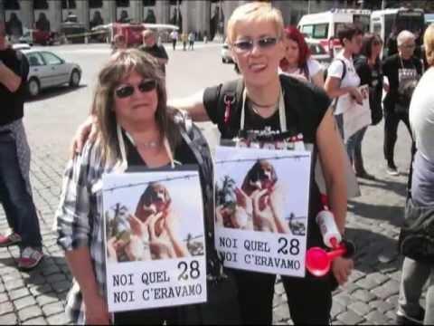 Animali Liberi - Manifestazione Animalista A Roma video