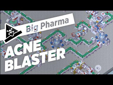 ACNE BLASTER  - ep 2 - Let's Play Big Pharma Marketing & Malpractice Gameplay