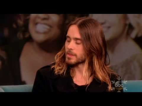 Jared Leto Full Interview on The View 12.4.2013