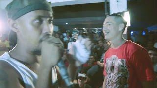 Bahay Katay - Zaito Vs Crazzy G - Rap Battle @ Basagan Ng Bungo