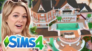 Adult Designs A Malibu Barbie Dream House In The Sims 4 | Part 1