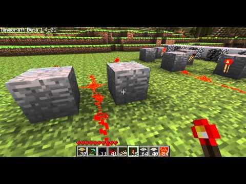 Minecraft - Les MDM : piston 3 générateur de surface de cobblestone