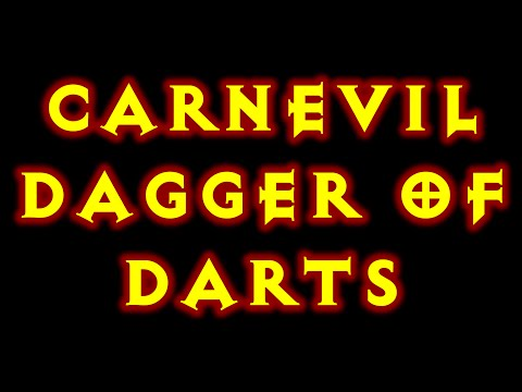 Diablo 3 Dagger Of Darts CarnEvil Witch Doctor Build 2.1.1