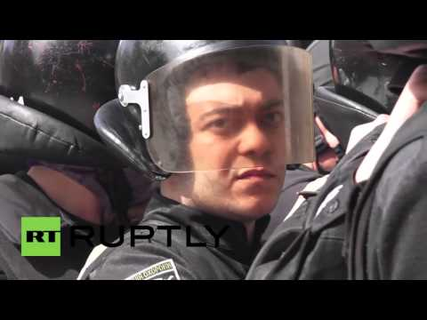 Ukraine: Fiery protest calls for lustration of law enforcement officials