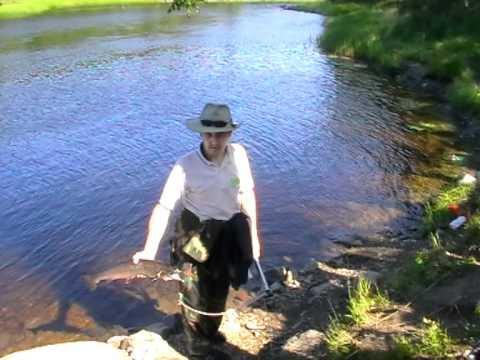 рыбалка семги река кереть