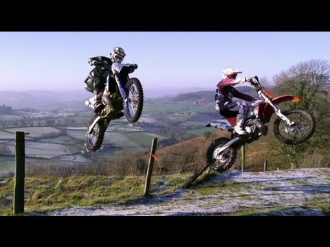 Enduro Motocross in Nantmawr Quarry - The Tough One 2012