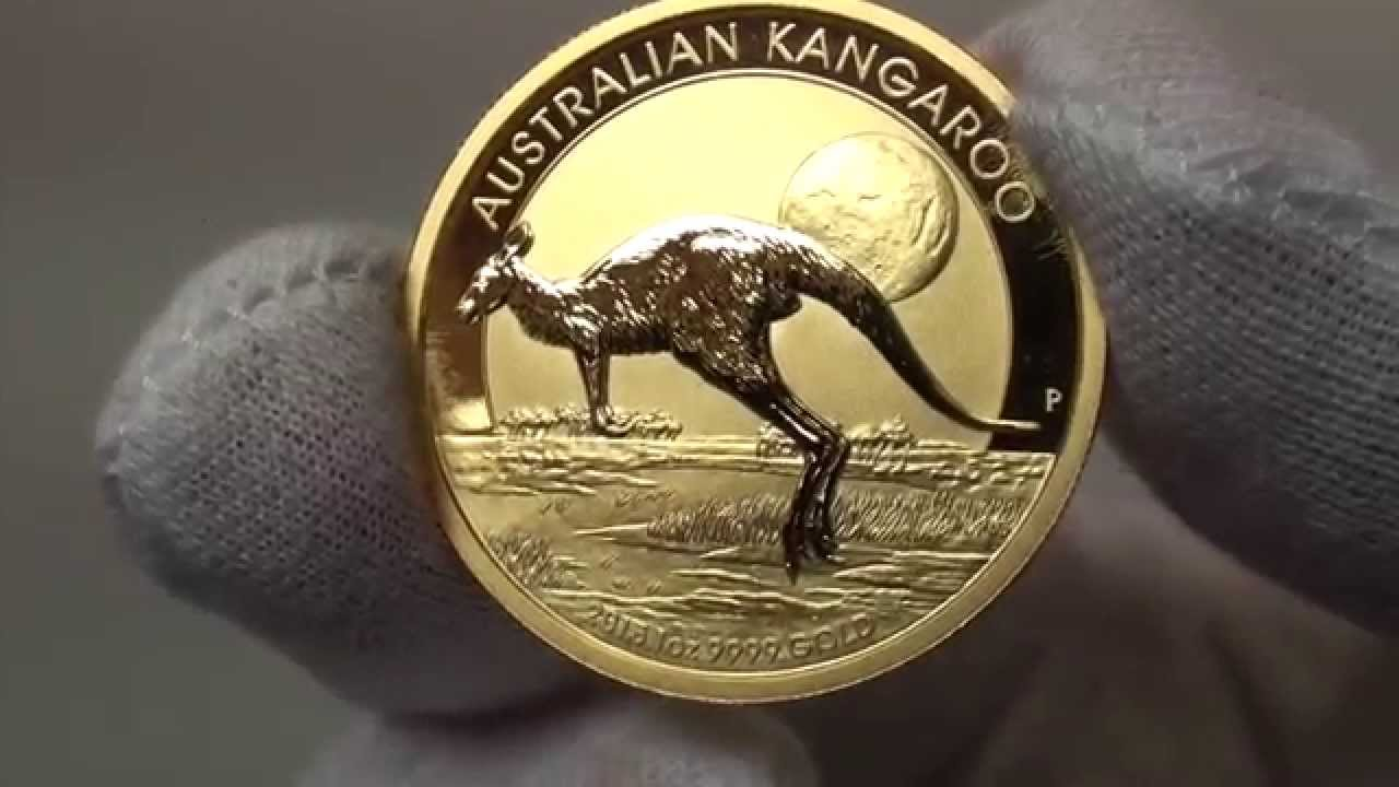 2015 Australian Kangaroo Gold Bullion Coins Released By