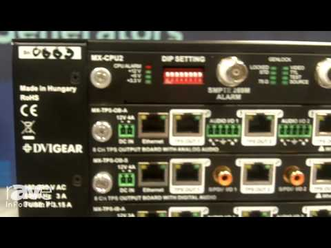 InfoComm 2014: DVIGear Outlines its MXP Series Digital Matrix Routing Switchers