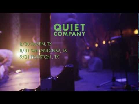 Quiet Company Fall Tour 2012 Promo Video