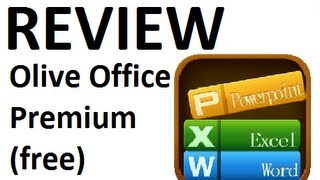 Application Review_ Olive Office Premium Free (Android)