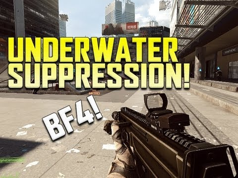 BF4 Swimming Underwater, Suppression, UI walkthrough, Commander and More