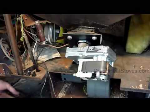 Whitfield Pellet Stove Auger Motor Troubleshooting and Replacement