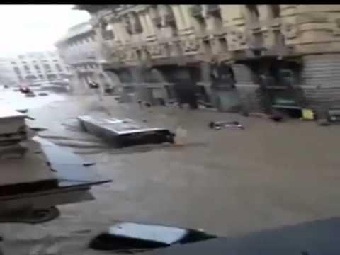 Автобус амфибия + страшное наводнение Италия (6 видео)