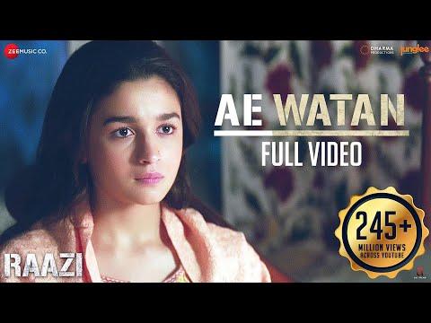 Download Lagu  Ae Watan - Full  | Raazi | Alia Bhatt | Sunidhi Chauhan | Shankar Ehsaan Loy | Gulzar Mp3 Free