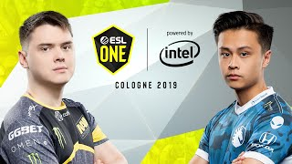 CS:GO - NaVi vs. Team Liquid [Dust2] Map 1 - Semi-Final - ESL One Cologne 2019