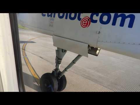 Start Bombardier Dash 8 Q400  Z Lotniska Chopina W Warszawie