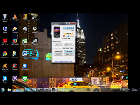 Como hacer Wipe e instalar/actualizar el Sistema Operativo de tu BlackBerry