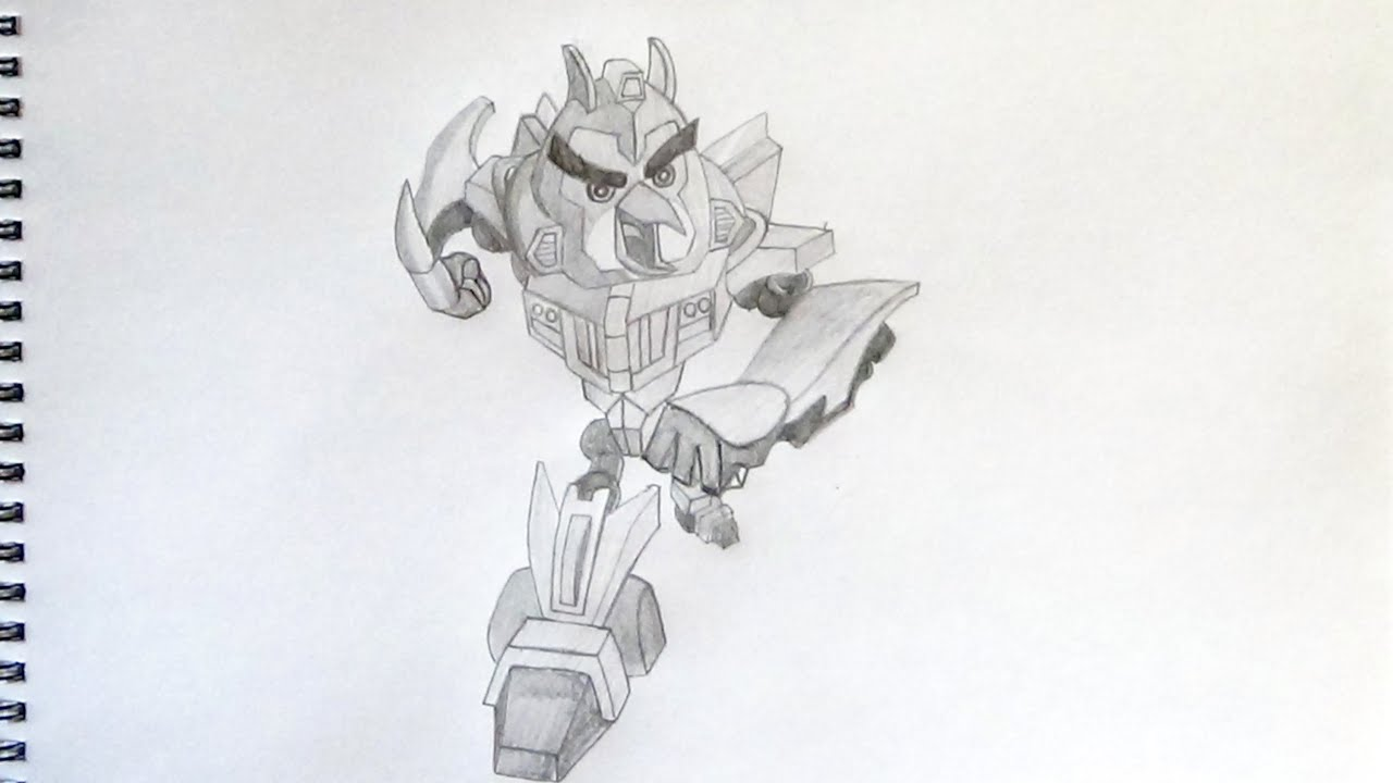 Angry Birds Transformers Drawings How to Draw Angry Birds