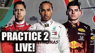 2019 United States Grand Prix Practice 2 Watchalong