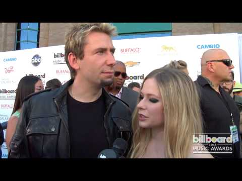 Chad Kroeger And Avril Lavigne On The 2013 Billboard Music Awards Blue Carpet video