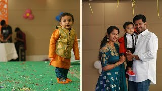 Aarush 1st Birthday Party Video || Sweet Memories