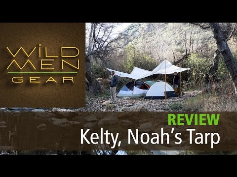 Outdoor Gear Review - Kelty. Noah's Tarp 16' : Wild Men Gear