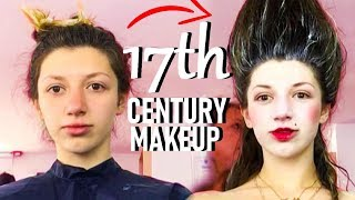 BEAUTY STANDARDS IN THE 17th CENTURY || HISTORY OF MAKEUP 💄