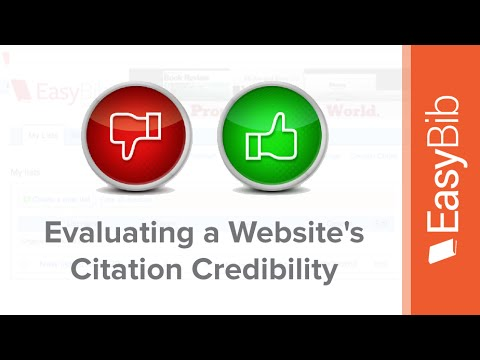evaluating a website for credibility Evaluating a website for credibility evaluating a website for credibility guidelines with scoring rubric purpose the purpose of this assignment is to: a) id.