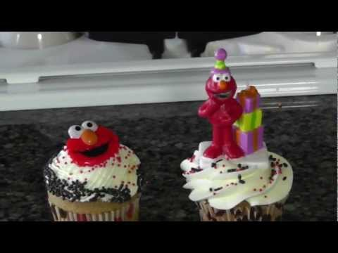 Elmo Cupcake Decorating Ideas