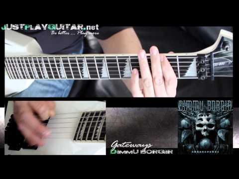 [ Dimmu Borgir - The Gateways ] How To Play Part 1 2 [ Guitar Cover ] video