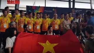 Tin Thể Thao 24h Hôm Nay: Đội Tuyển Việt Nam Đã Đến Indonesia Sẵn Sàng Tạo Nên Địa Chấn ở Asiad 2018
