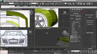 Audi R8 Modeling Tutorial in 3ds max Part 3 HD