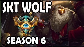 SKT T1 Wolf Bard vs Alistar Support Ranked Challenger Korea