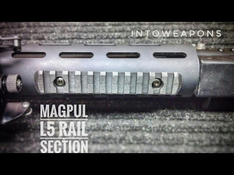 VEPR Upgrade 13: Magpul L5 MOE Rail Section