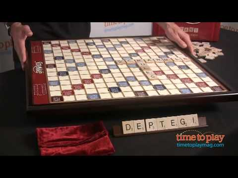 Scrabble Giant Deluxe Edition From Winning Solutions Youtube