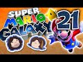 Youtube Thumbnail Super Mario Galaxy: Contact and Space - PART 21 - Game Grumps