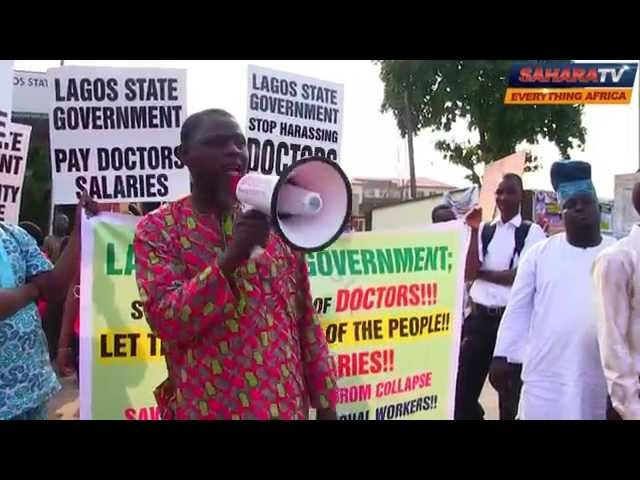 "Lagos State Officials Are Using Our Salaries to ""Sort Themselves"" - Medical Doctors"