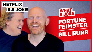 Bill Burr Doesn't Read Social Media Comments | What A Joke | Netflix Is A Joke