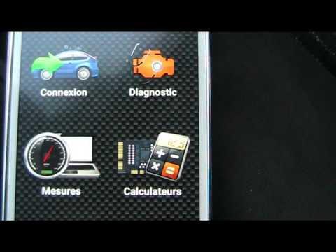 lire et effacer les défauts moteur avec un smartphone