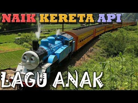 Naik Kereta Api | Versi Thomas Raksasa | Lagu Anak Indonesia | Hiburan Anak