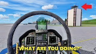 ATC Plays Fortnite while in Flight Simulator X (Multiplayer)