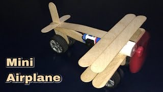 ✪ DIY Mini Airplane | How to make a Mini Airplane ✪ StarTech Tips ✪