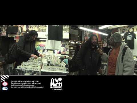 Industrial Racquet DJ Swamp Interview!