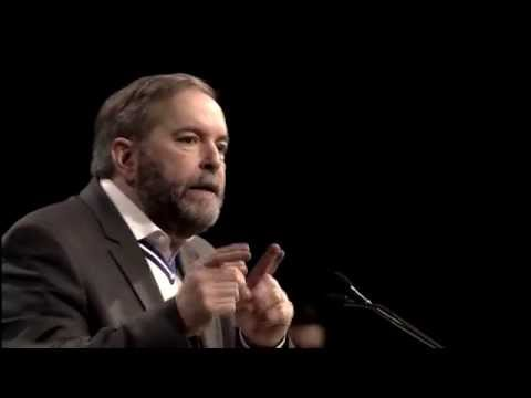 Thomas Mulcair: Speech to CLC // Discours devant la CTC