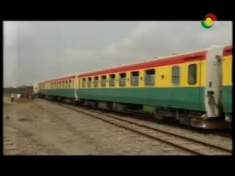 News360 -  Accra Tema bound derailed coach being detached from the engine - 15/2/2016