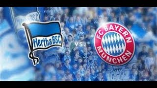 HERTHA BSC VS BAYERN MÜNCHEN DIRECTO EN VIVO IN LIVE STREAMING DIRECT LIFE