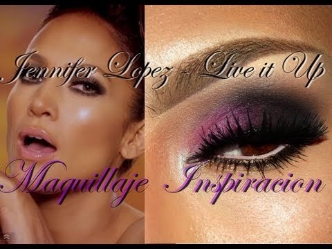 Maquillaje inspirado en Jennifer Lopez - Live it Up Video