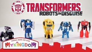 Đồ chơi rô bốt lắp ráp Siêu người máy biến hình Transformers - Phiên bản 1 bước biến đổi