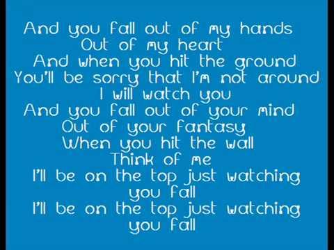 Ina Fall With lyrics