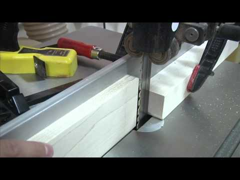 Tenons on the Bandsaw